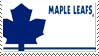 Toronto Maple Leafs Stamp by nascarstones