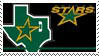 Dallas Stars Stamp by nascarstones