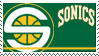Seattle Sonics Stamp by nascarstones