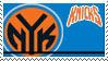 New York Knicks Stamp by nascarstones