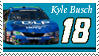 Kyle Busch Stamp 'DLP' by nascarstones