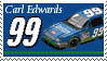 Carl Edwards Stamp claritin by nascarstones