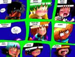 Super Sayian Black Boy Reactions by Rokku-D
