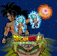 Dragon Ball Super Broly Poster by thekrillmaster