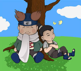 Naruto fanart: Lazy Days by sweetvillain