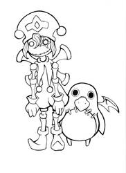 Disgaea 2: Marionette + Prinny by sweetvillain