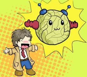 Persona 4: Adachi's persona by sweetvillain