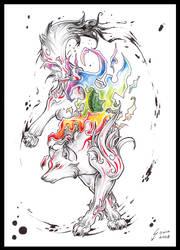 Rainbow Okami by sowia
