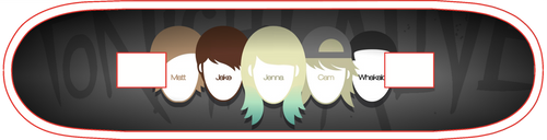 Tonight Alive MEMBERS by PaoloVee