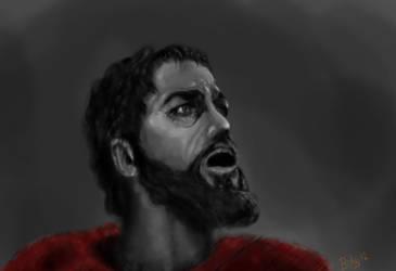 300 - Death of Leonidas by Bohy