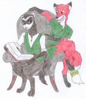 Magnus and Rusher by Kelaiah
