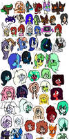 All OCs! by DrawingDaize
