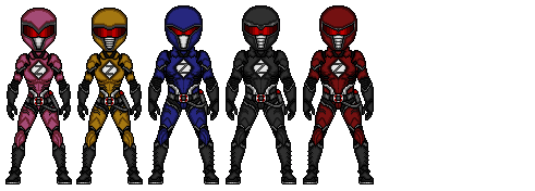 Dark Rangers by Ethereal-Hawk
