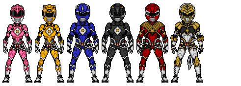 Mighty Morphin - 4 by Ethereal-Hawk