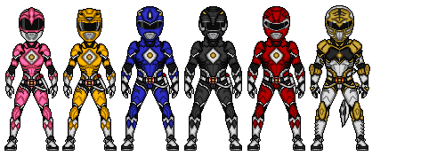 Mighty Morphin - 3 by Ethereal-Hawk