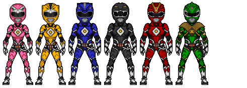 Mighty Morphin - 2 by Ethereal-Hawk