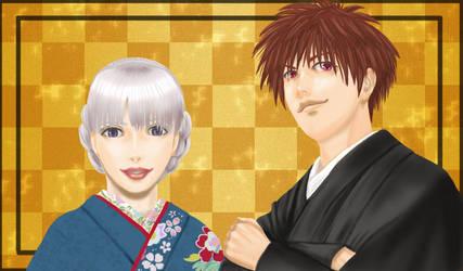 Happy new year by kicku