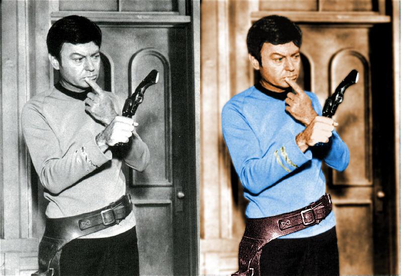 Colorized McCoy by SpockGlocksRocks