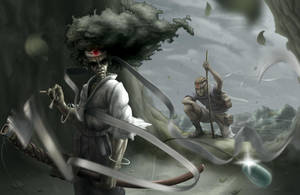 Coming for Your Afro, Samurai by DenzelAJackson