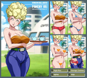 Mrs. Briefs - Panchy (Dragon Ball) PACK by Sano-BR