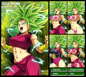 Kefla/Kefura (Dragon Ball Super) PACK by Sano-BR