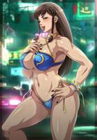 Chun-li _ Street Fighter V (Bikini version) by Sano-BR