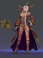 elf wizard by molybdenumgp03