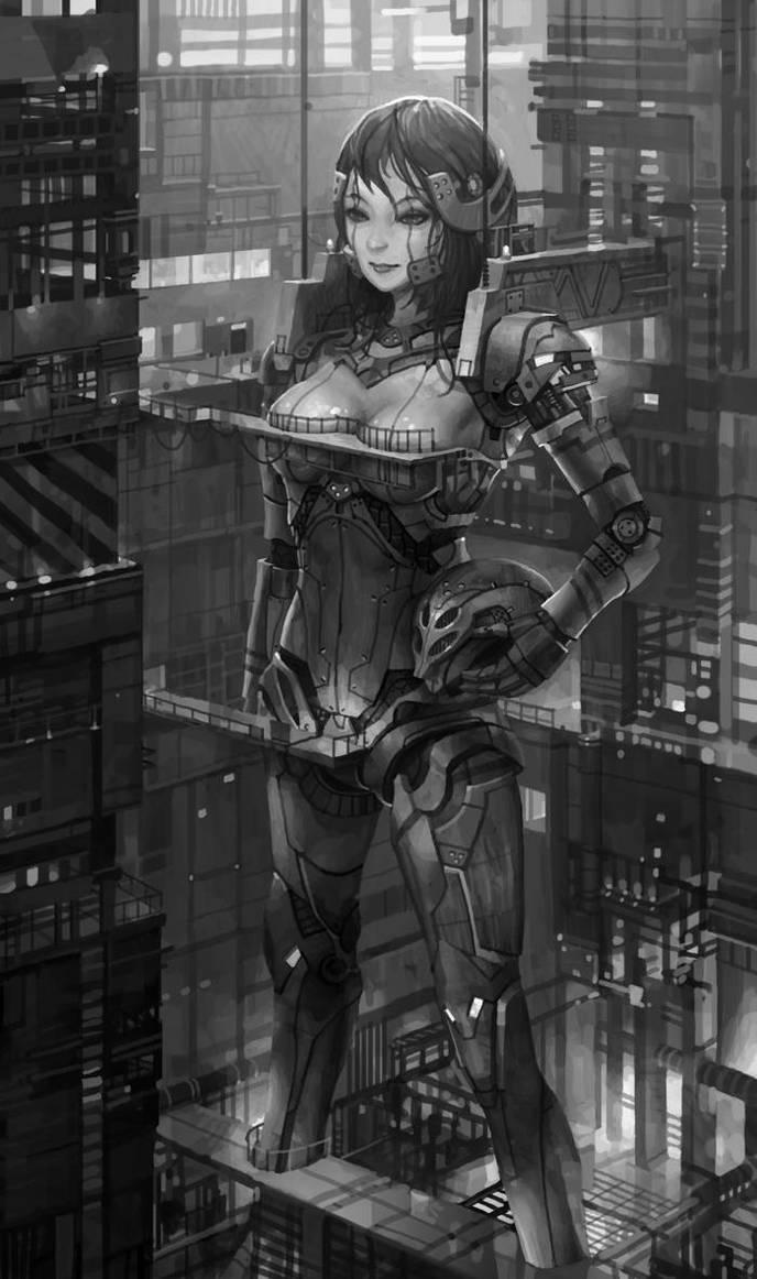 giant robot by molybdenumgp03