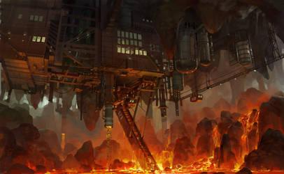 underground factory by molybdenumgp03