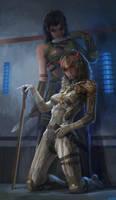 vamp and raiden by molybdenumgp03