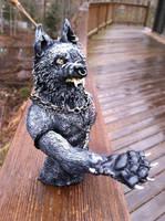 Werewolf Bust For Sale CHEAP by starwolf303