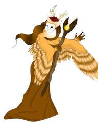 Owl Shaman by starwolf303