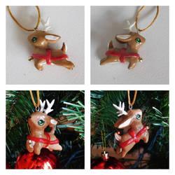 Little Reindeer Ornament by starwolf303