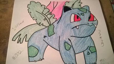#002 - Ivysaur by SasukePrismaColor