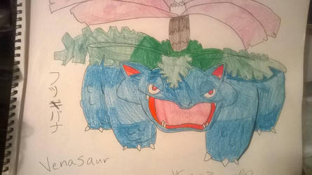 #003 - Venasaur by SasukePrismaColor