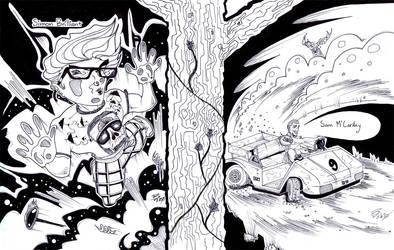 Simon B and Sam - Inked by LukeBatt