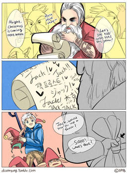 Rise of The Guardians - Our Wish-lists by Breetroad