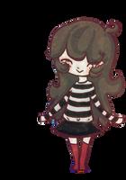 Chibi Sadie in a Skirt by timelesstiger