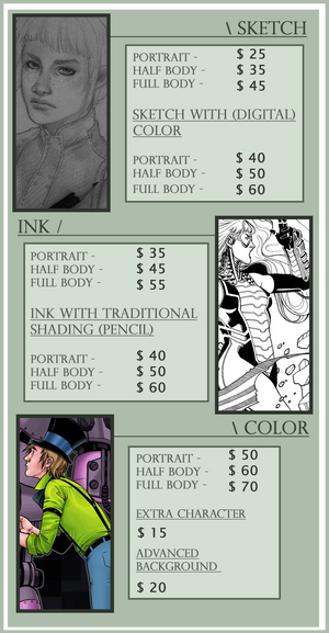 [Commission Info 2018] by BleedingHeartworks