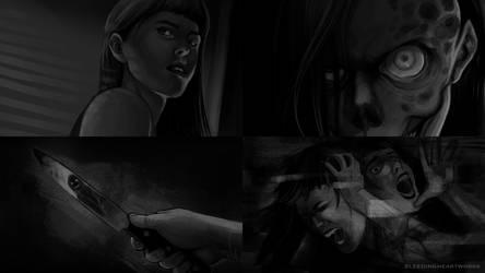 [Creepypasta]: Jeff and Jane by BleedingHeartworks