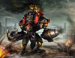 Warmachine Wrath: Black Ivan by Mikeypetrov