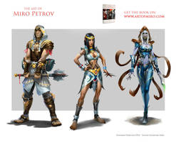 SummonerCharacters by Mikeypetrov