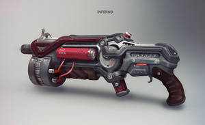 Project Ygdrassil - Inferno Gun by Mikeypetrov