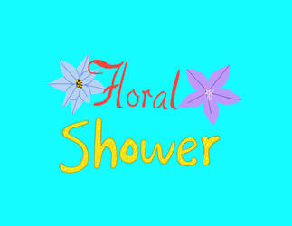 Floral Shower logo by Waterdragon1654