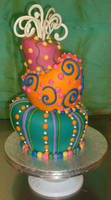 Topsy Turvy Cake by Kahlan4
