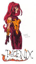 Phoenix by JeanGreyPhoenixClub