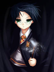 harry potter by Amuria