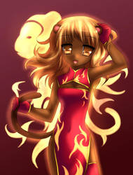 chinese zodiac - monkey by Amuria
