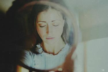 thoughts.. blue ink stains by AlicjaRodzik