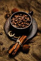cinnamon coffee by nazarkina